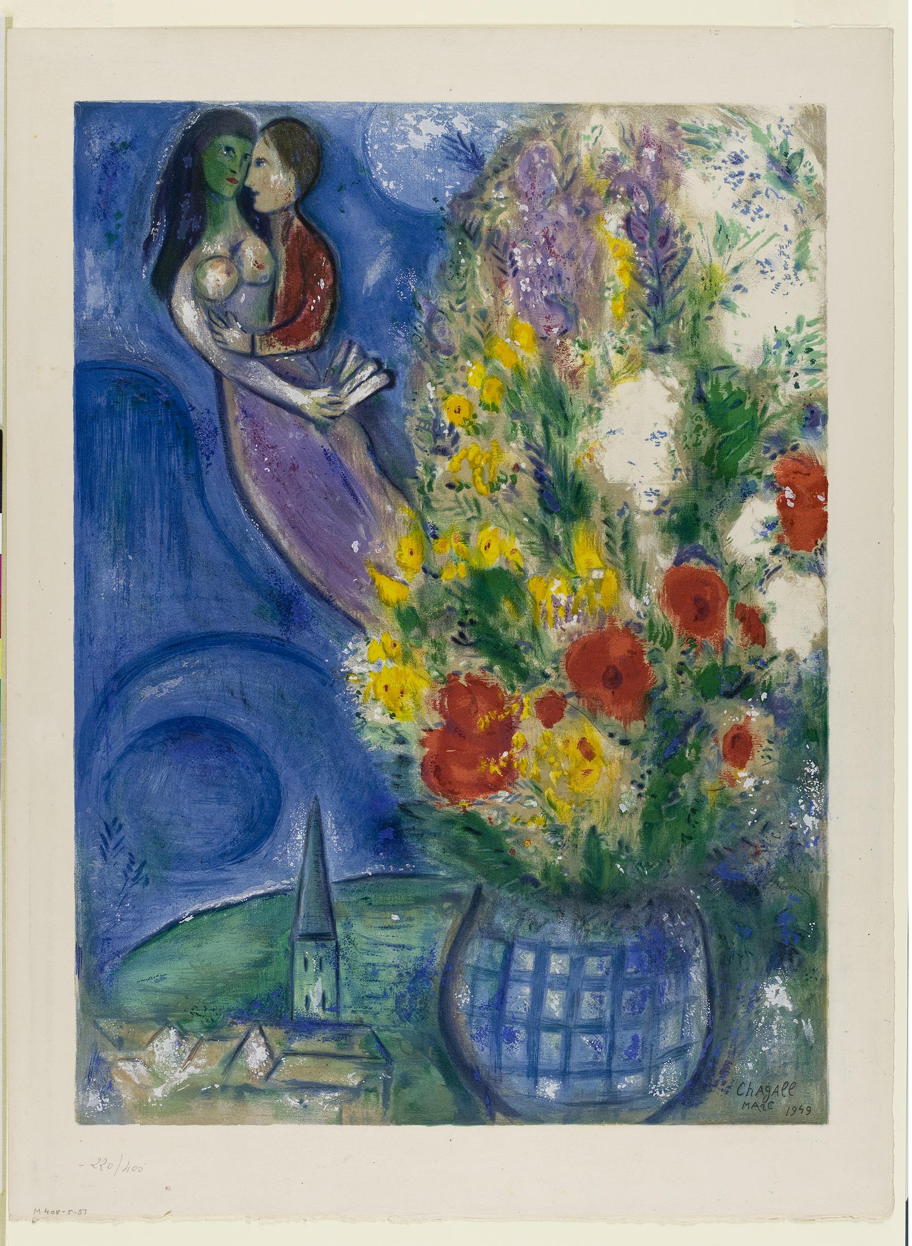 11_Chagall_Coppia di amanti e fiori