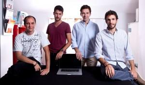 Matteo, Claudio, Giacomo e Andrea - i fondatori di Fluentify