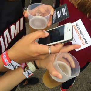 Lolla goes cashless