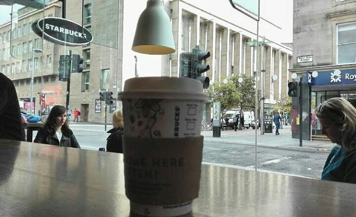 Il mio Chai Latte e Sauchieall Street