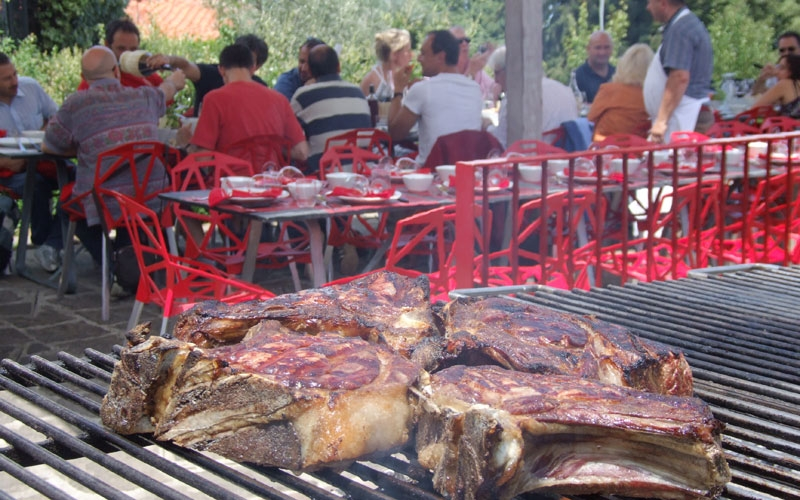 Officina della Carne, antica macelleria Cecchini.