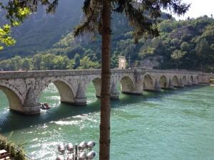Il ponte sulla Drina di Visegrad.