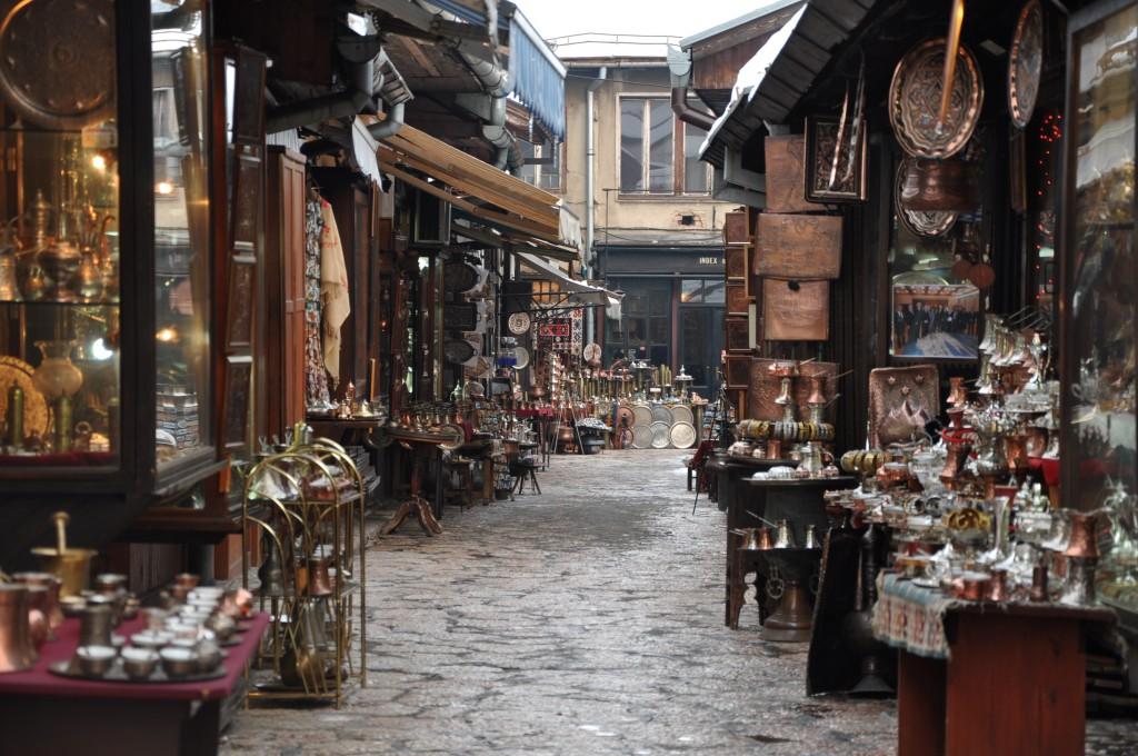 Bascarsija, la città vecchia (e turca).