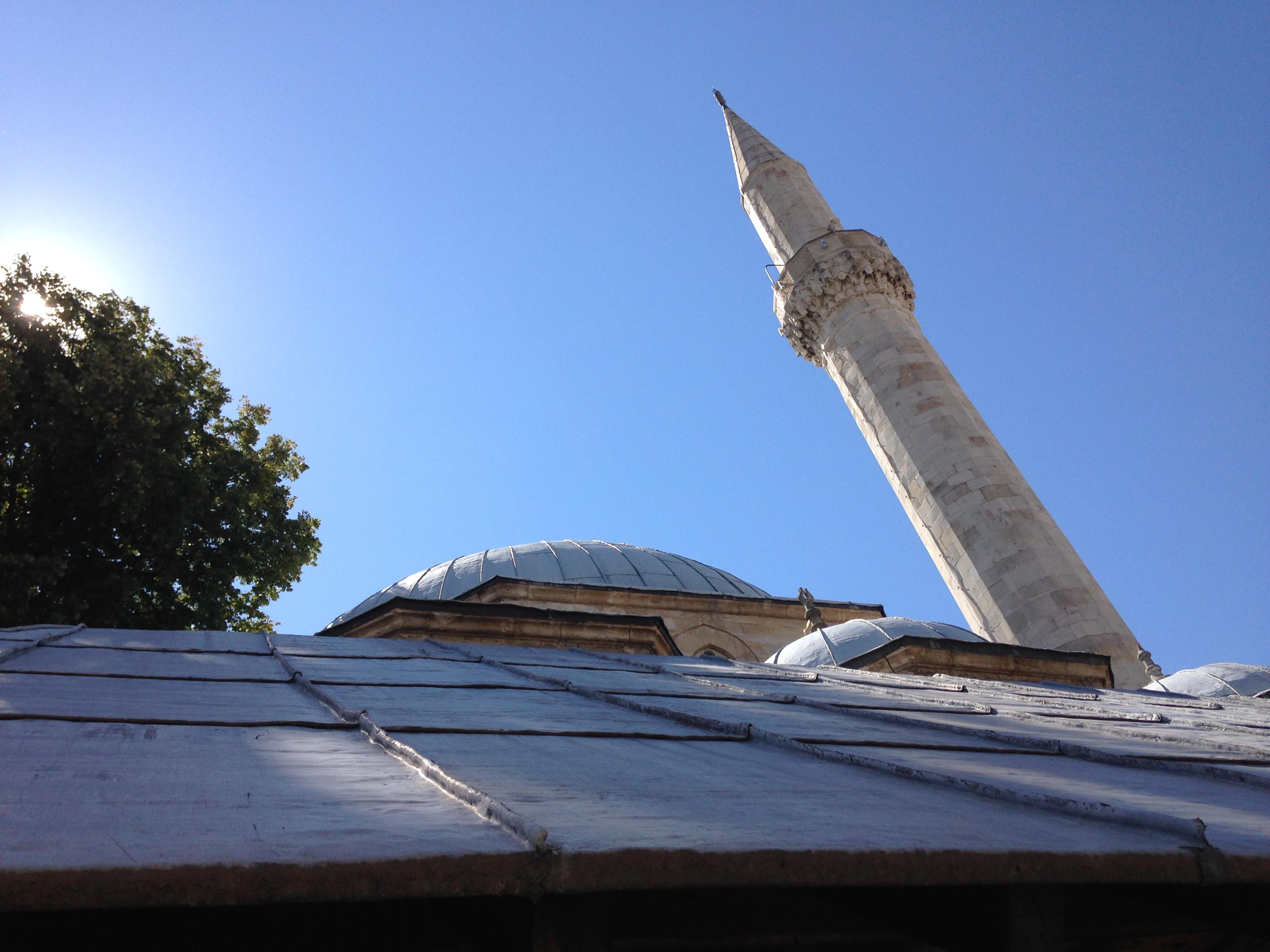 Il minareto della moschea.