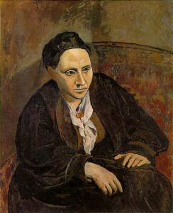 Ritratto di Gertrude Stein - Pablo Picasso, 1906