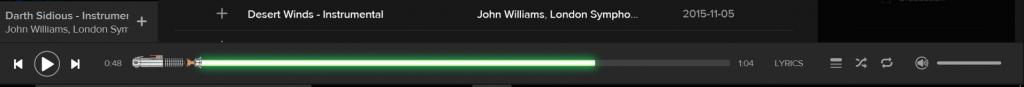 Ascoltare Star Wars su Spotify