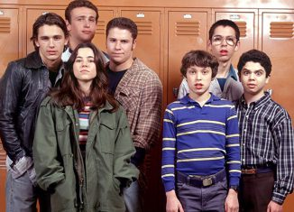I protagonisti di Freaks And Geeks, in un'unica foto