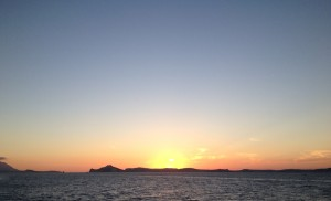 7 - Tramonto su Ischia