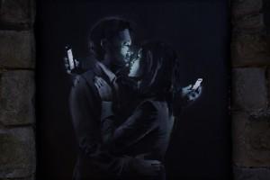 Mobile Lovers   Banksy