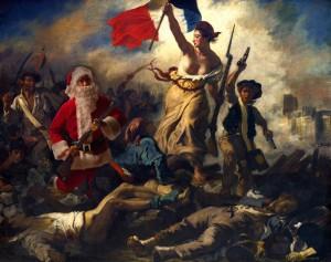 Père Noël, eccentrico supporter giacobinista.