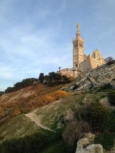 Salita a Notre Dame de la Garde