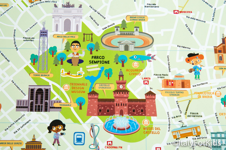 Cartina Citta Firenze.Passeggiare Per Le Citta Italiane Con Italy For Kids Salt Editions