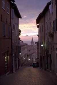 Via Raffaello (photo credit: museo del Metauro)