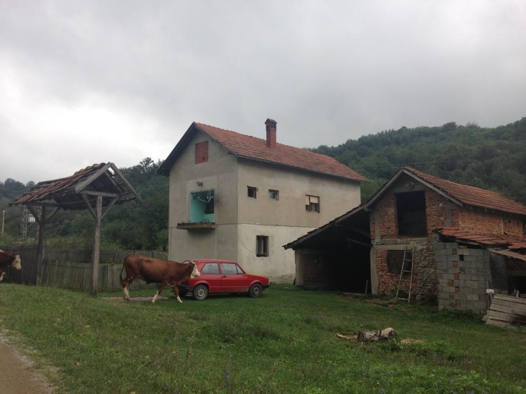 Da qualche parte al centro della Serbia.