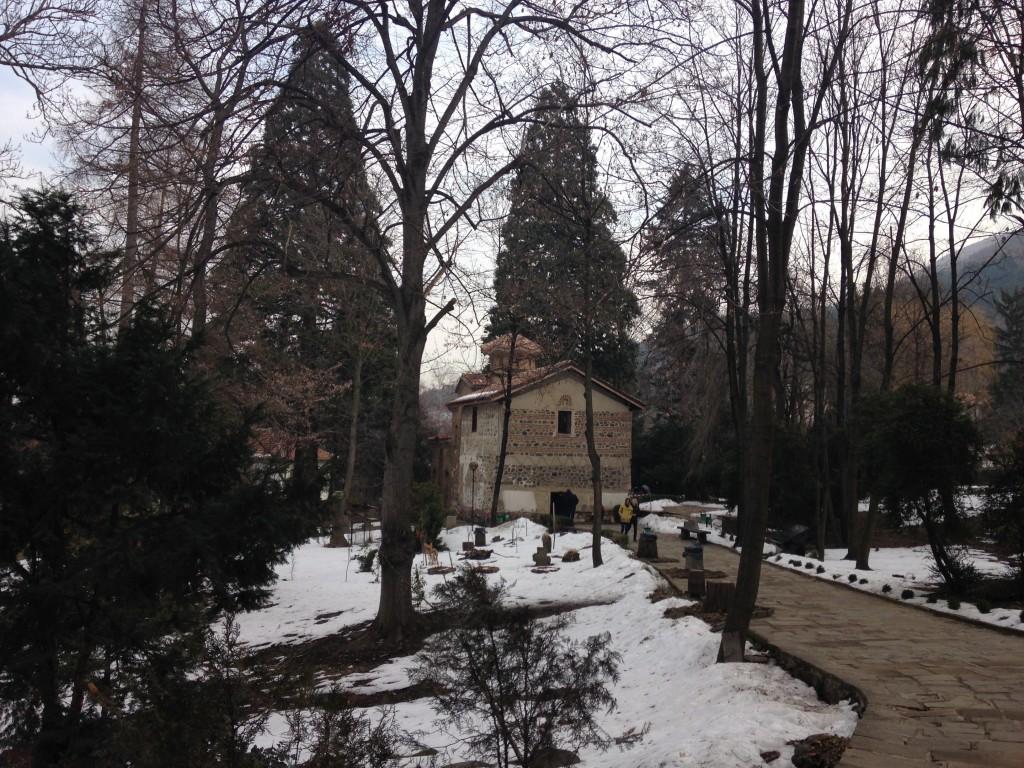 La chiesa di Bojana da fuori (ve l'avevo detto, io).