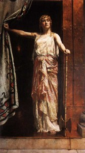 """Clitennestra"" - John Collier, 1882"