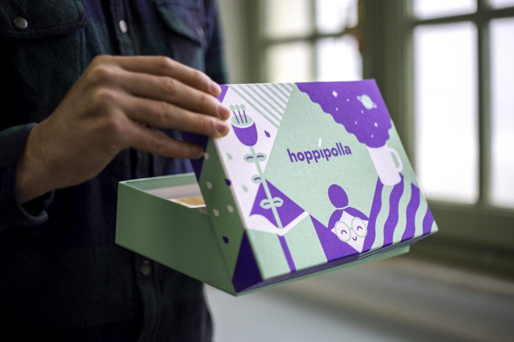 Hoppipolla box cultura per corrispondenza