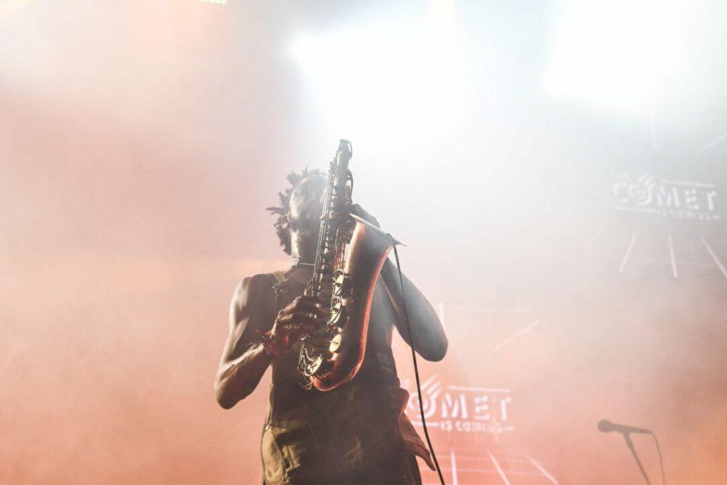 Shabaka Hutchings sax