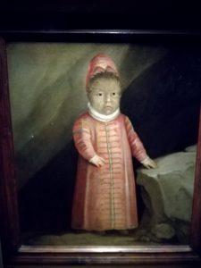Figlio dell'uomo irsuto Petrus Gonsalvus