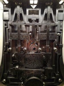 Piastra di una serratura