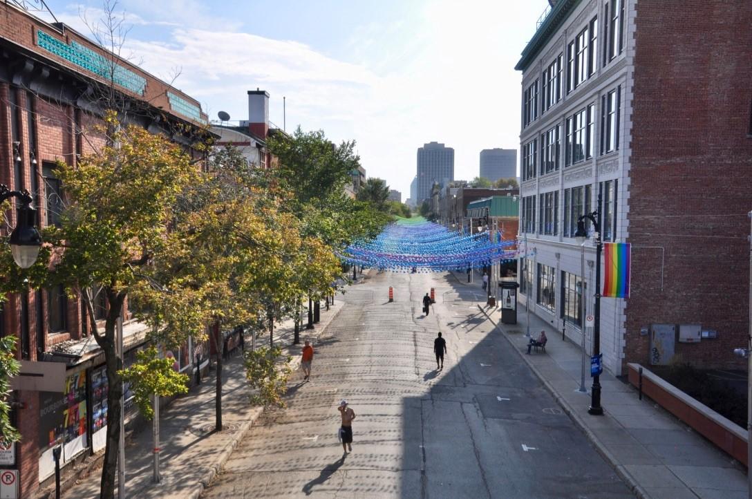 Montréal pride street