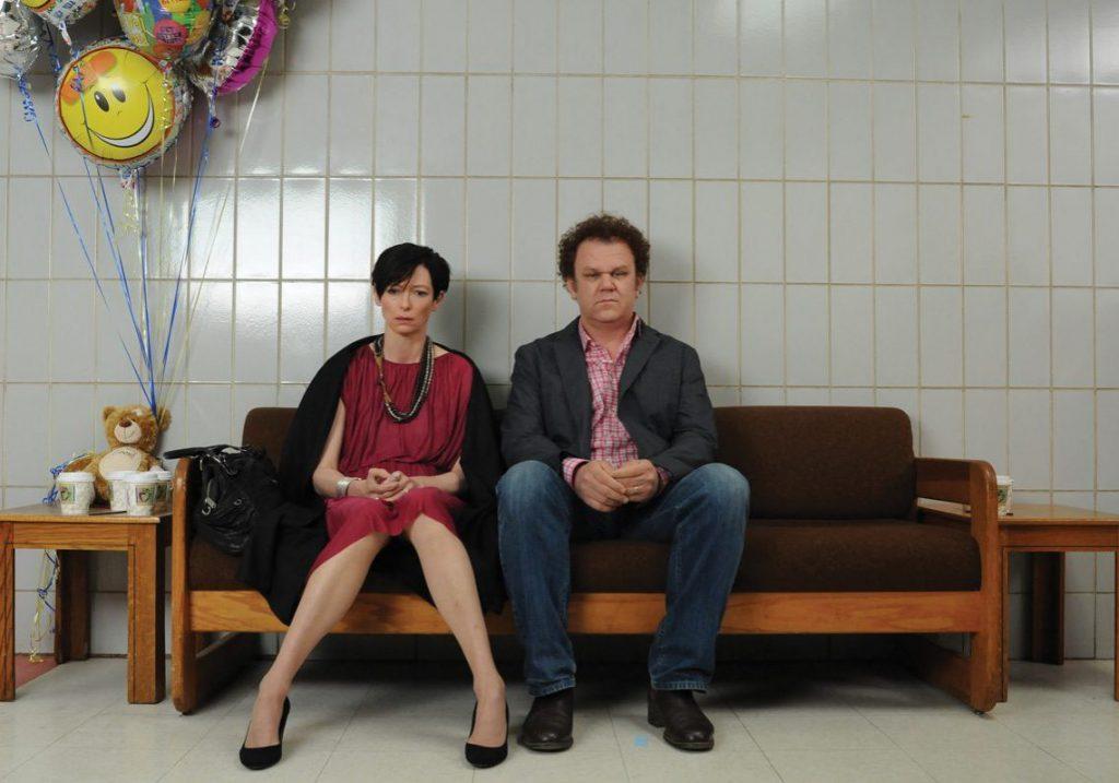 """Una scena di """"E ora parliamo di Kevin"""", con Tilda Swinton e John C. Reilly"""