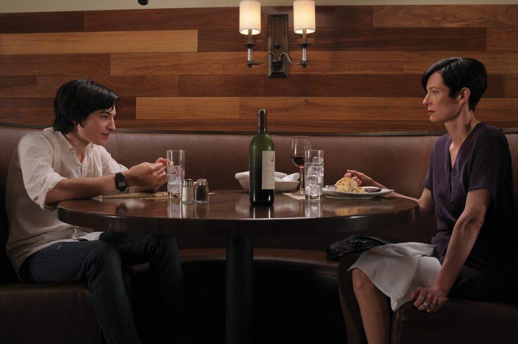 Un'altra scena di E Ora Parliamo di Kevin, con Tilda Swinton ed Ezra Miller
