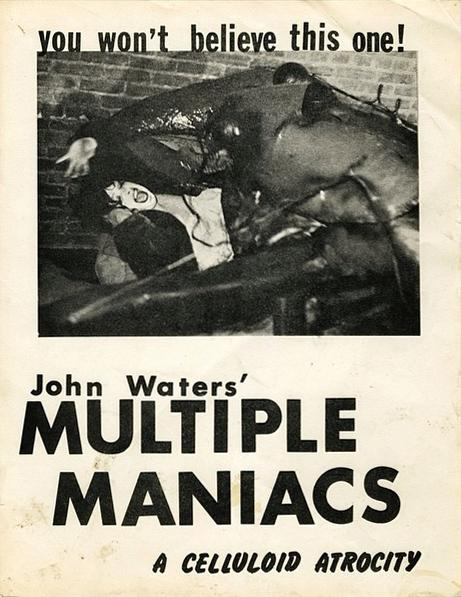 Multiple Maniacs, un film di John Waters