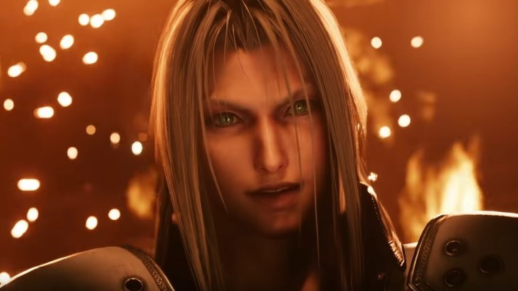 Sephiroth, antagonista in Final Fantasy VII Remake