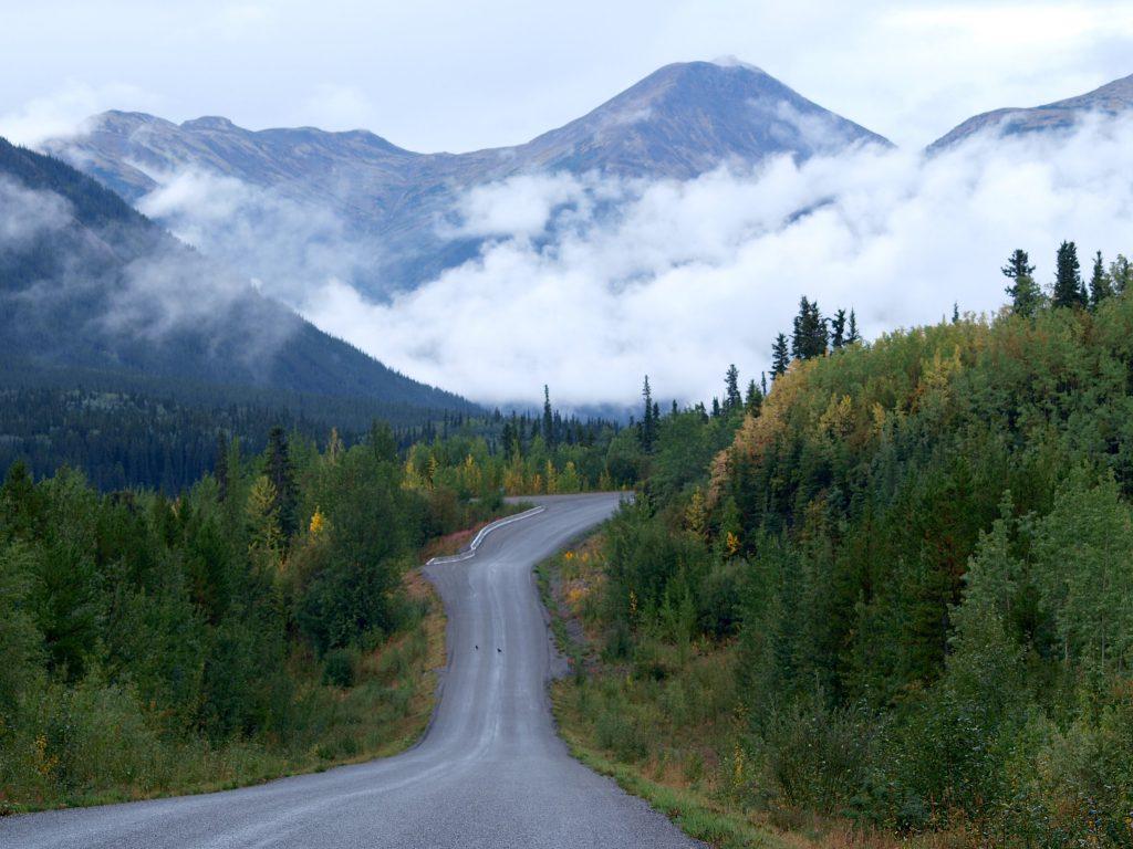 Un'immagine della Cassiar Highway