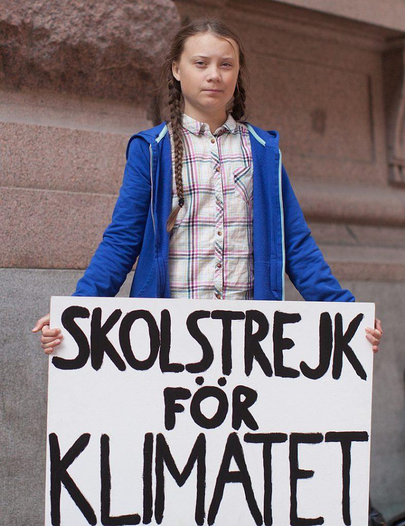 Greta Thunberg e l'attivismo per il clima della generazione Z