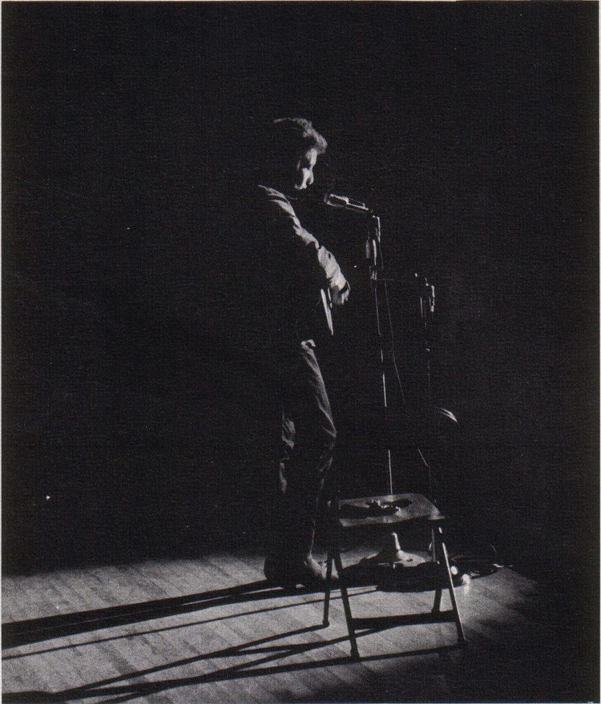 Bob Dylan, qualche giorno dopo la morte di JFK