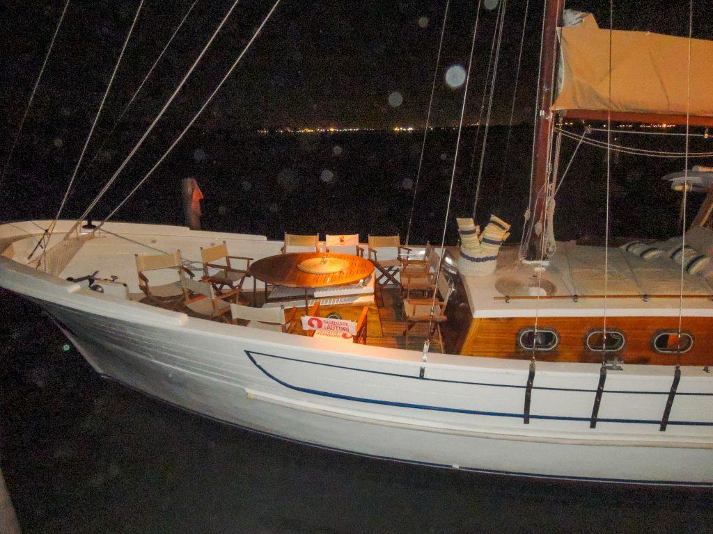 Edipo Re, la barca