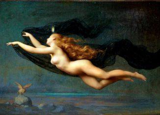 La Nuit di Auguste Raynaud usata per la copertina de La notte si avvicina di Loredana Lipperini