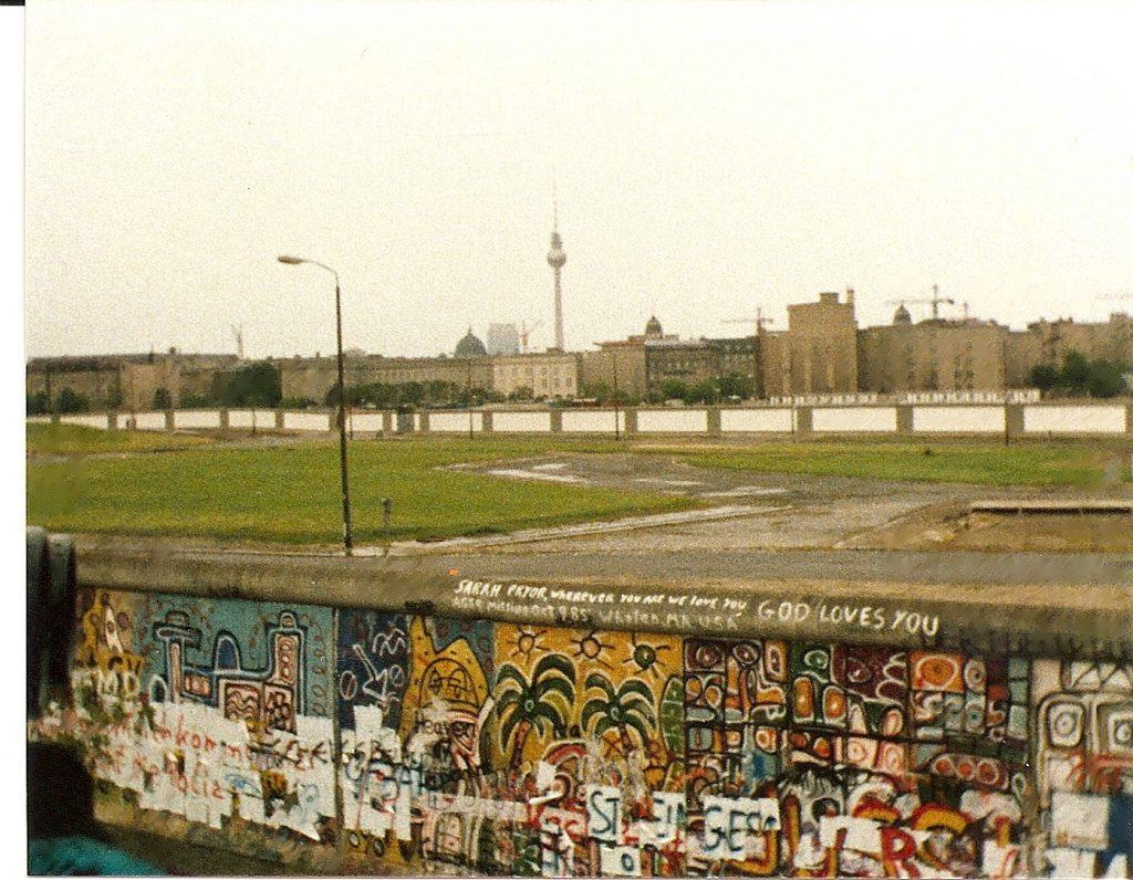 Potsdamer Platz negli anni Ottanta