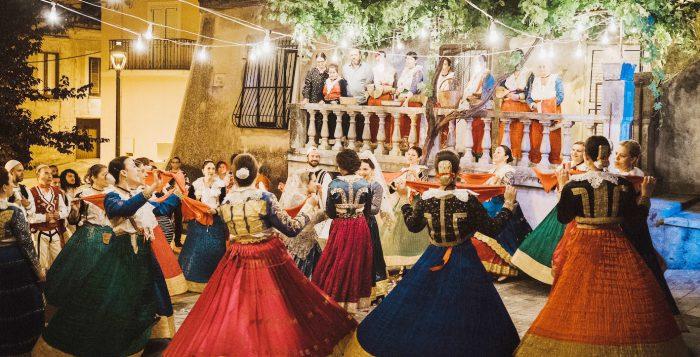 Una scena di Arbëria, di Francesca Olivieri