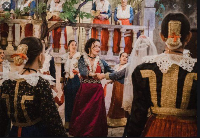 Un'immagine dal film Arbëria di Francesca Olivieri